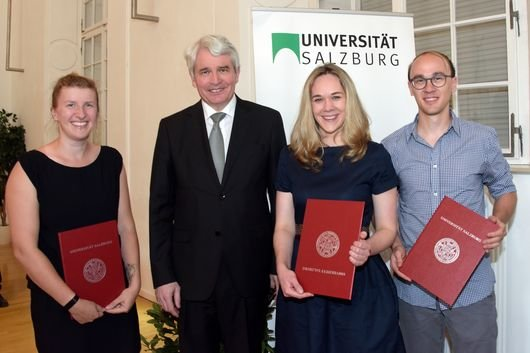 Young Investigators Award of the University of Salzburg 2019 presented to Helen Strandt
