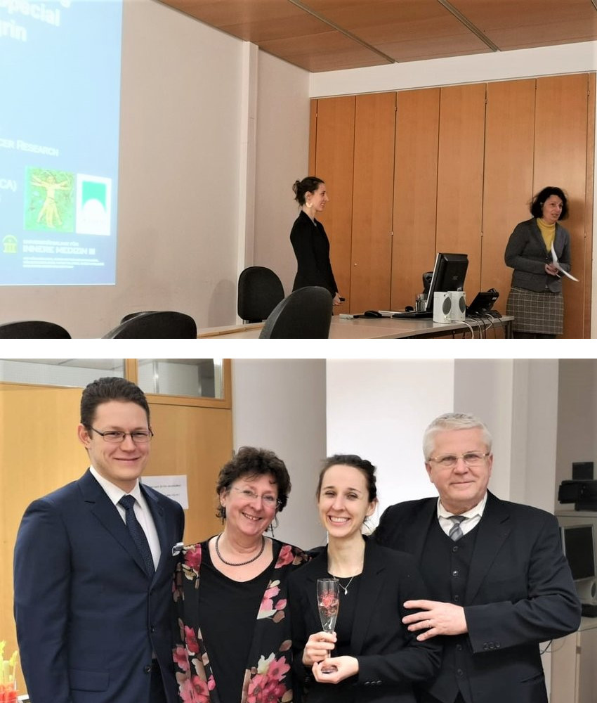 Another successful transition from ICA fellow to ICA Alumna by Eva Szenes-Nagy